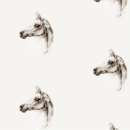 Fabric 15558 | KOŃ ARABSKI - Arabian horse