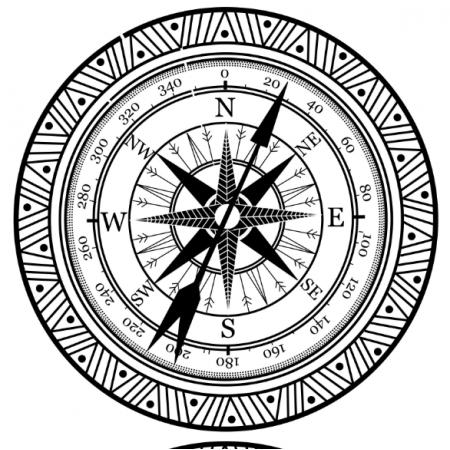 Fabric 15600 | kompas
