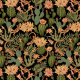Fabric 15617 | Lizards and cactuses