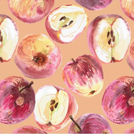 Tkanina 15619 | Crispy apples