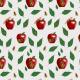Tkanina 15645 | Szerszenie i jabłuszka