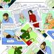 Fabric 15647 | Życie jak komiks (kasandra rysuje)