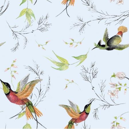 Tkanina 15710 | rajskie ptaki