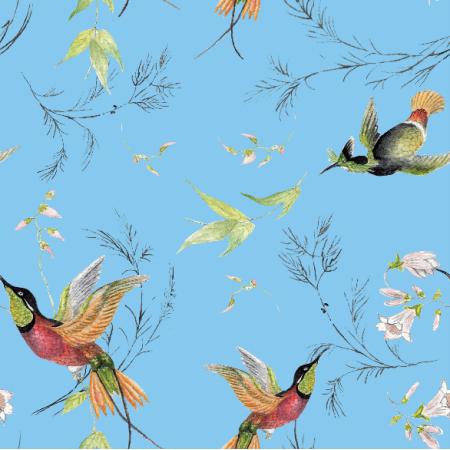 Tkanina 15712 | rajskie ptaki