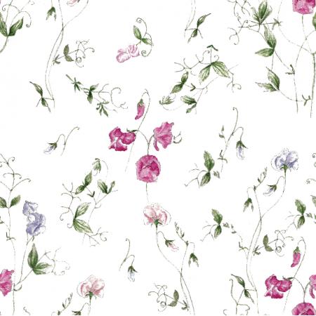 Fabric 15714 | slodki groszek