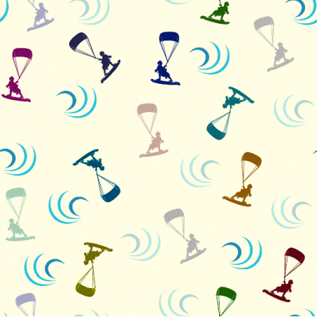 Fabric 15742 | kitesurf