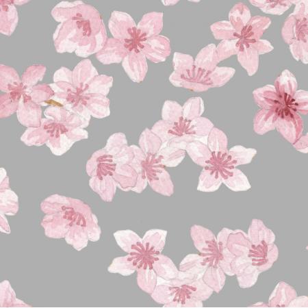 Fabric 15750 | Kwiaty wiśni
