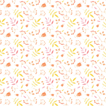 Fabric 15756 | orange beetle