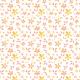 Tkanina 15803 | orange flowers