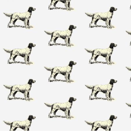 Tkanina 15806 | PIESKI - English Setter Dogs