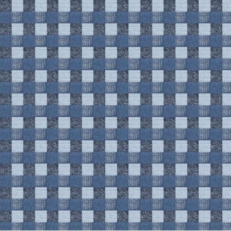 Tkanina 15810 | krata niebieska
