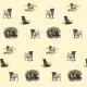 Fabric  | PSY Mopsy - pugs dogs