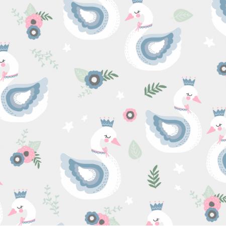 Fabric 15852 | Swan