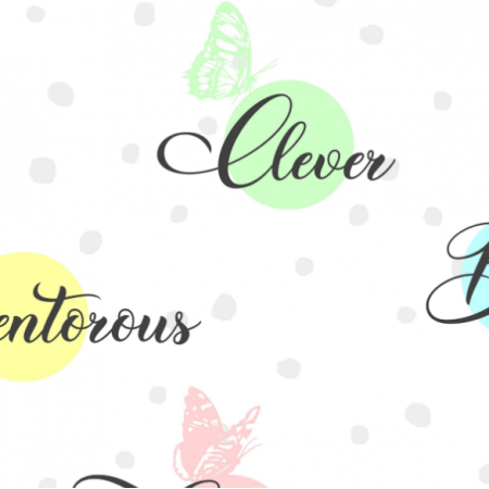 Fabric 15888 | Clever Girl pastel