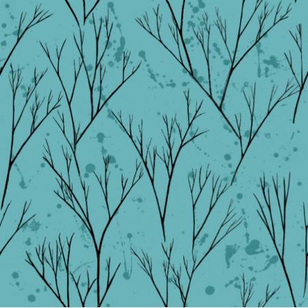   zielone drzewka