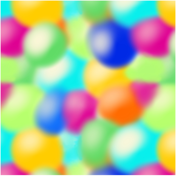 Tkanina 15990 | colorful pompons
