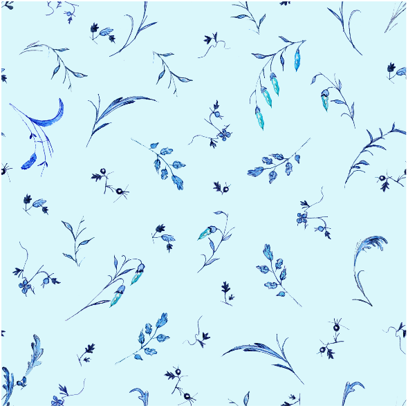 Fabric 16027 | l'ete indien- leafs