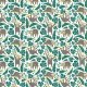 Fabric 16062 | Lazy Sloths // white