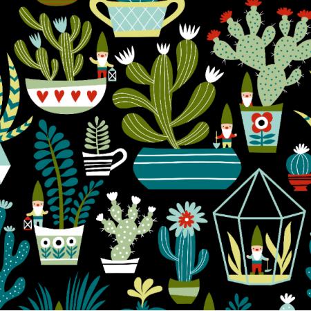 16064 | Mini Garden gnomes // black