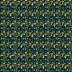 Fabric 16064 | Mini Garden gnomes // black