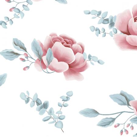 Fabric 16101 | Peonies