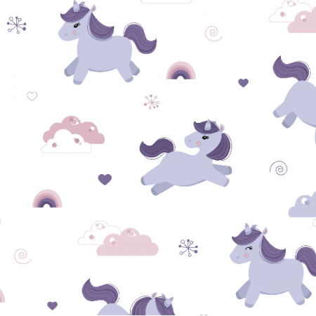Fabric 16119 | sweet unicorns
