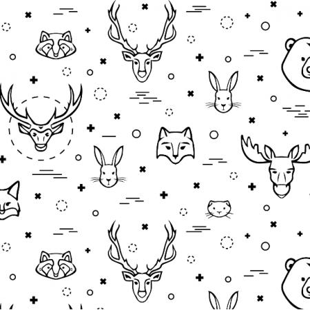 Fabric 16121 | animals