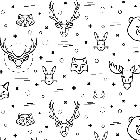 Fabric 16121 | animals