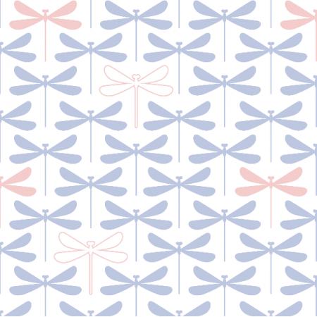 Fabric 16142 | dragonflies