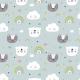 Fabric 16159   Misie i kotki