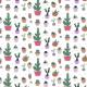Tkanina 16176   Funny colors cacti