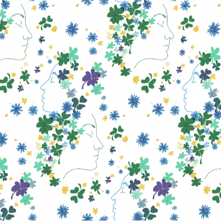 Fabric 16180 | Spring clover