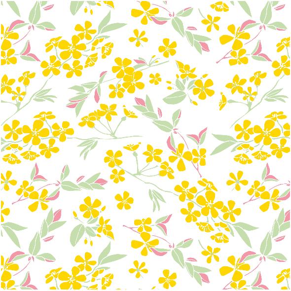 Tkanina 1780 | kwitnący sad