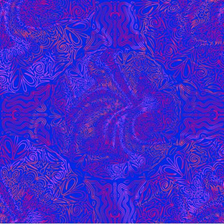 16204 | doodled mandala
