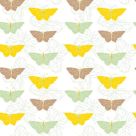 Fabric 1781 | motyle