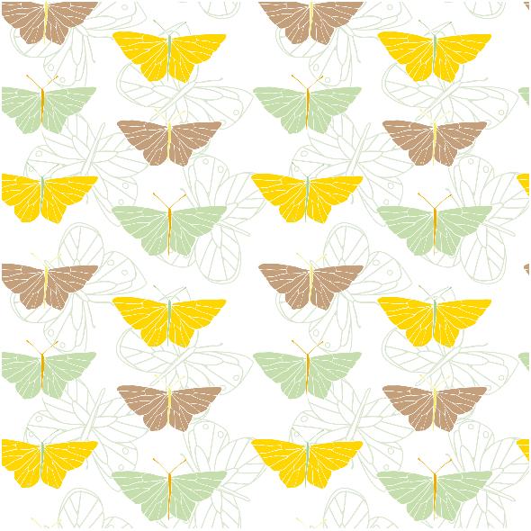 Tkanina 1781 | motyle