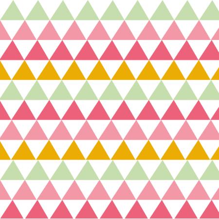 Fabric 1785 | słodkie trójkąty