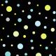Fabric 16258 | Dymi Night dots