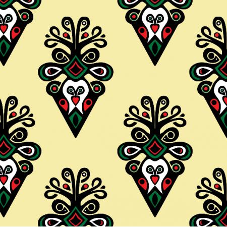 Fabric 16321 | Parzenica yellow XL