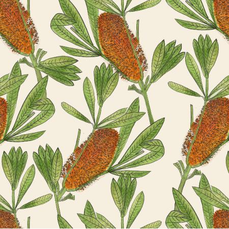 Fabric 16353 | banksia