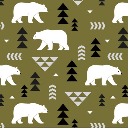 16366 | polar bears // olive