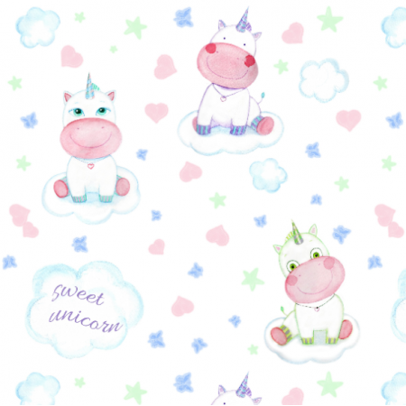 Fabric 16378 | Unicorns