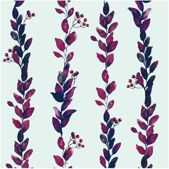 Fabric 16397 | Wild berries 30x30cm