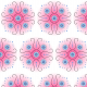 Fabric 16433 | FLORAL SYMMETRY / ASTER