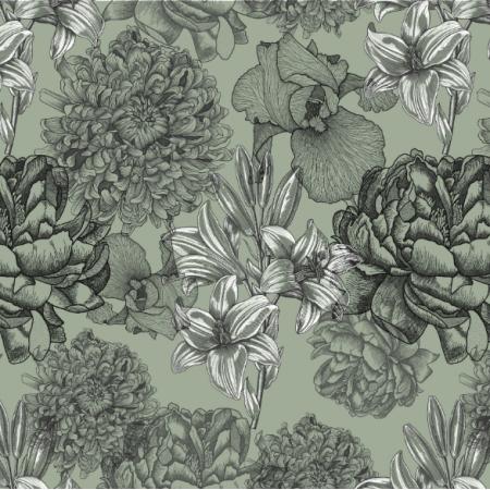16456 | Kwiaty na zielonym