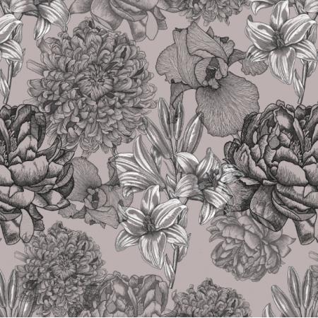 16460 | Kwiaty capuccino