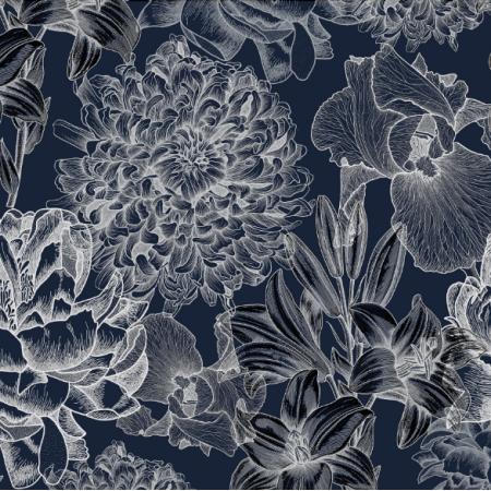 16485 | Kwiaty na granacie