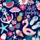Fabric 16554 | Hello summer