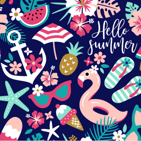 Fabric 16554 | Hello summer