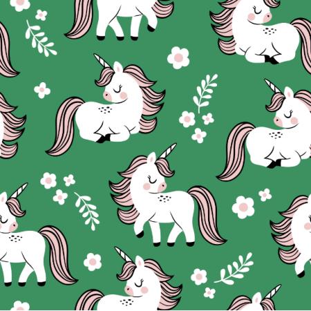 16559 | baby unicorns // green
